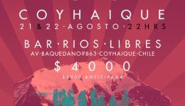 Coyhaique, Rios Libres restobar , segundo dia