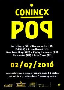 Concierto en CONICX POP FESTIVAL, HOLANDA
