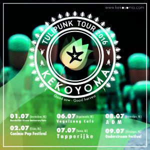 "Keko Yoma, Tulipunk Tour Europa 2016 "" buena siembra, buena cosecha """